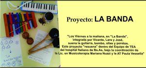 flyer La Banda