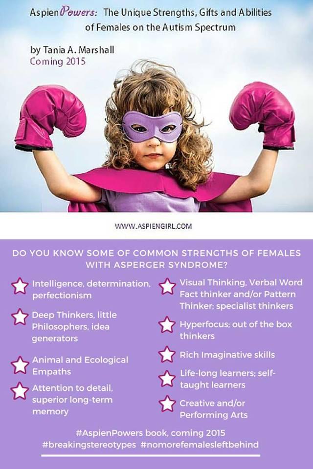 fortalezas mujeres con asperger