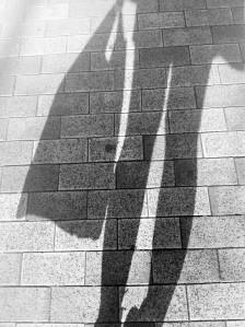 sombras blanco y negro